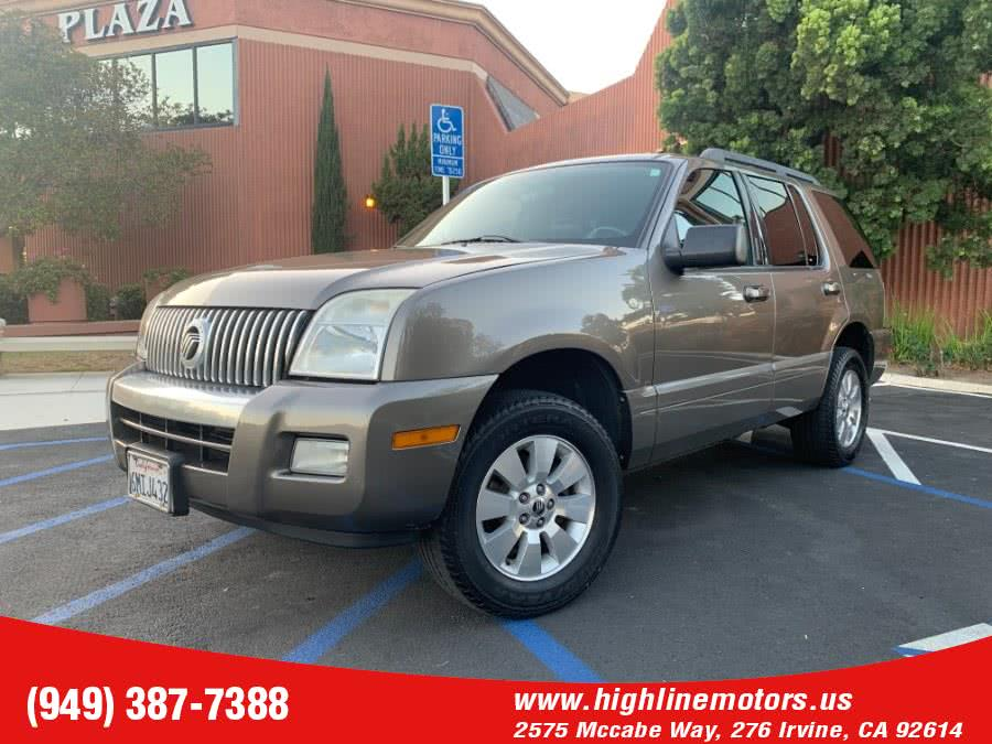 Used 2006 Mercury Mountaineer in Irvine, California | High Line Motors LLC. Irvine, California