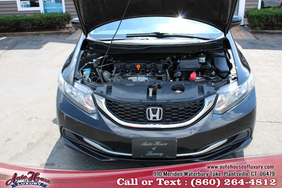 2014 Honda Civic Sedan 4dr CVT EX, available for sale in Plantsville, Connecticut | Auto House of Luxury. Plantsville, Connecticut
