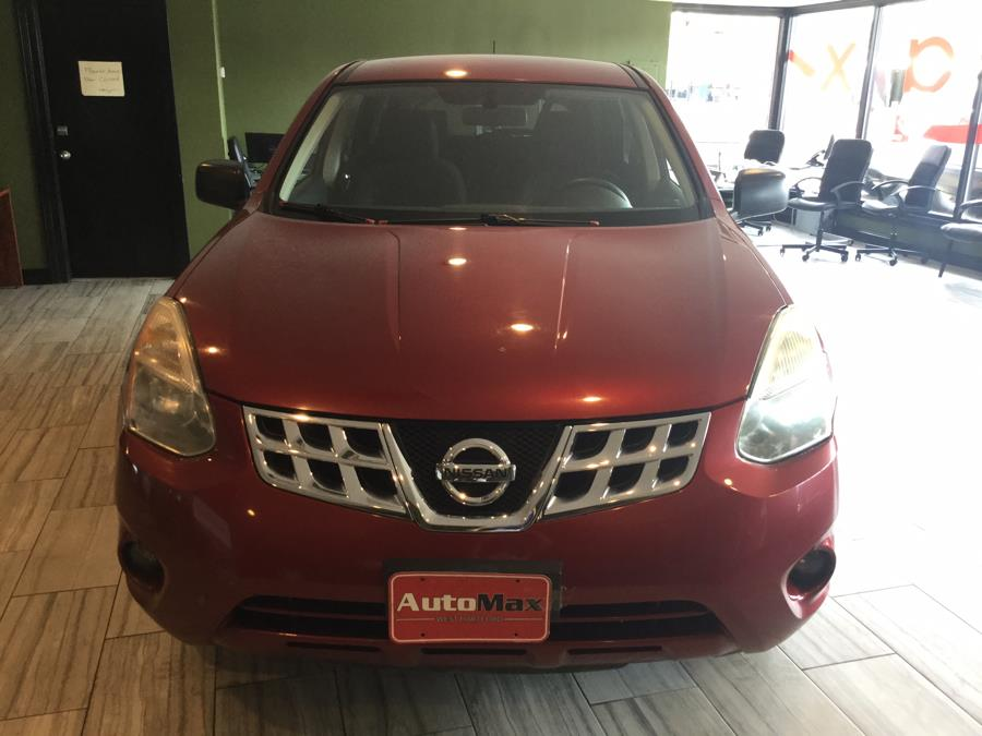 2012 Nissan Rogue AWD 4dr SV, available for sale in West Hartford, Connecticut | AutoMax. West Hartford, Connecticut