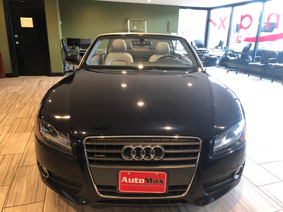 2011 Audi A5 2dr Cabriolet Auto quattro 2.0T Prestige, available for sale in West Hartford, Connecticut | AutoMax. West Hartford, Connecticut