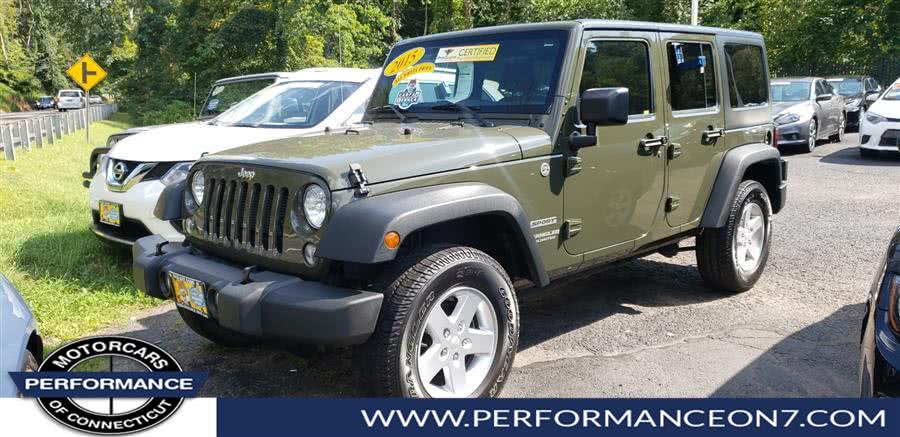 Used 2015 Jeep Wrangler Unlimited in Wilton, Connecticut | Performance Motor Cars. Wilton, Connecticut