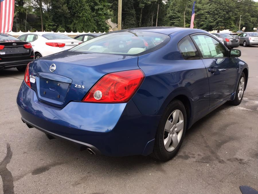 2008 Nissan Altima 2dr Cpe I4 CVT 2.5 S, available for sale in South Windsor , Connecticut   Ful-line Auto LLC. South Windsor , Connecticut