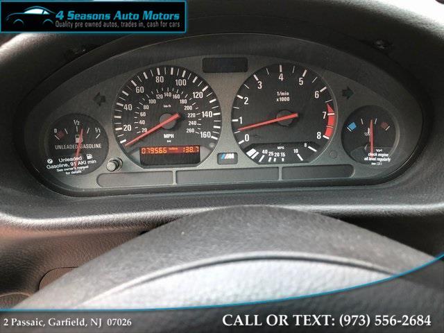 Used BMW M3 Base 1999 | 4 Seasons Auto Motors. Garfield, New Jersey