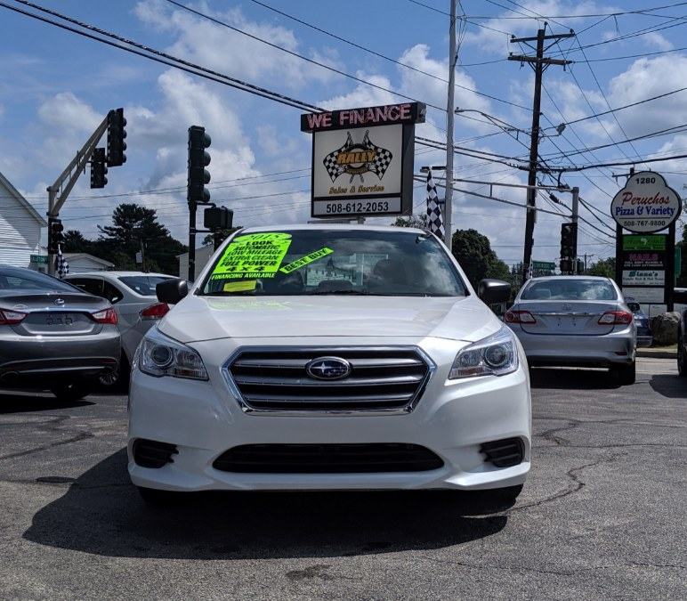 2015 Subaru Legacy 4dr Sdn 2.5i PZEV, available for sale in Worcester, Massachusetts | Rally Motor Sports. Worcester, Massachusetts