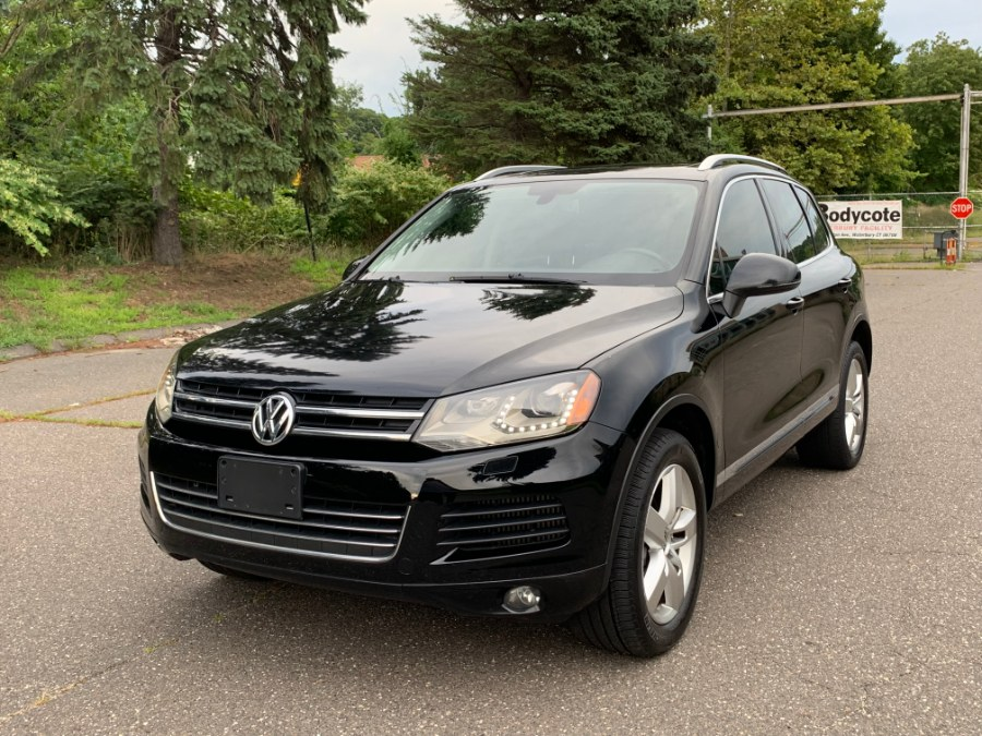 2012 Volkswagen Touareg 4dr TDI Lux, available for sale in Waterbury, Connecticut | Platinum Auto Care. Waterbury, Connecticut