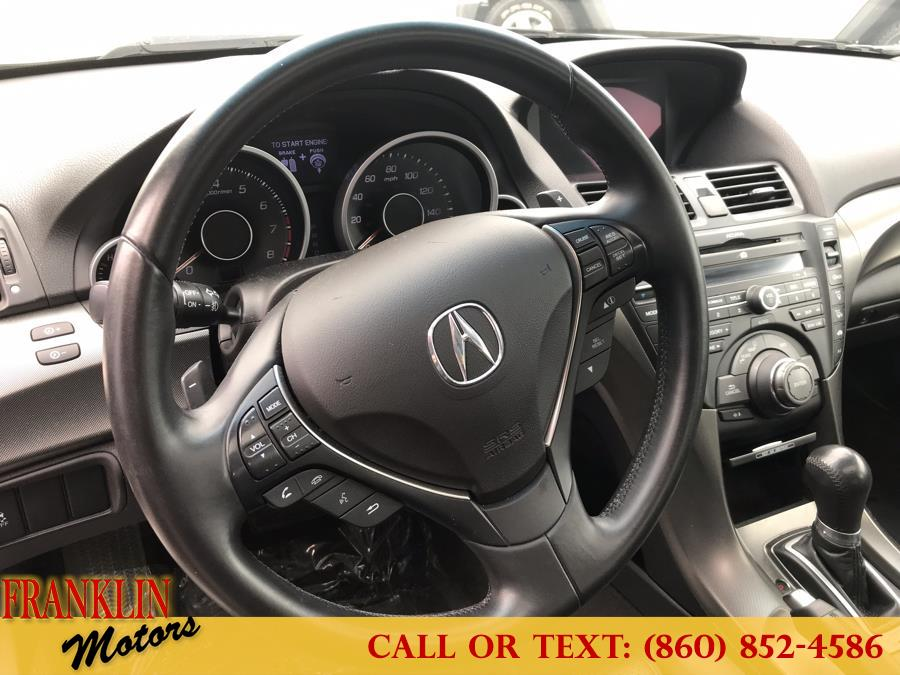 2013 Acura TL 4dr Sdn Auto 2WD Tech, available for sale in Hartford, Connecticut | Franklin Motors Auto Sales LLC. Hartford, Connecticut