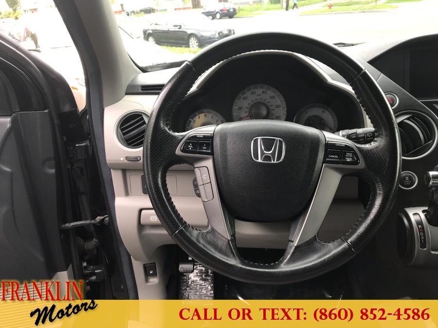 2013 Honda Pilot 4WD 4dr EX-L w/Navi, available for sale in Hartford, Connecticut | Franklin Motors Auto Sales LLC. Hartford, Connecticut