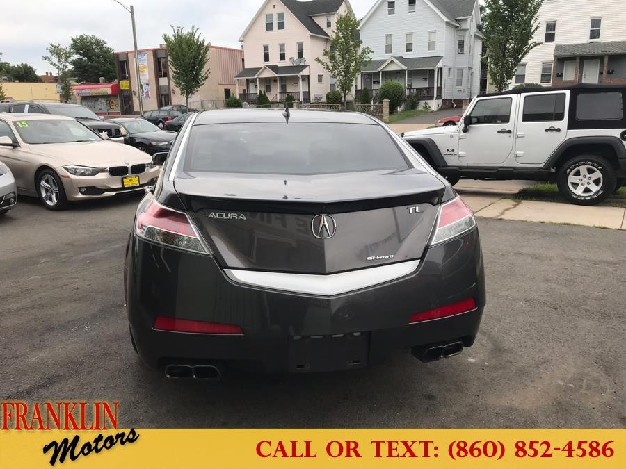 2010 Acura TL 4dr Sdn Auto SH-AWD Tech, available for sale in Hartford, Connecticut   Franklin Motors Auto Sales LLC. Hartford, Connecticut