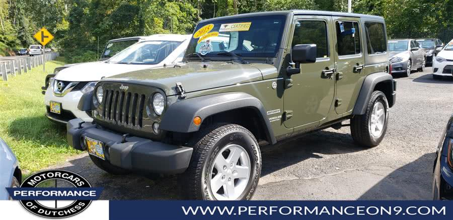 Used Jeep Wrangler Unlimited 4WD 4dr Sport 2015 | Performance Motorcars Inc. Wappingers Falls, New York