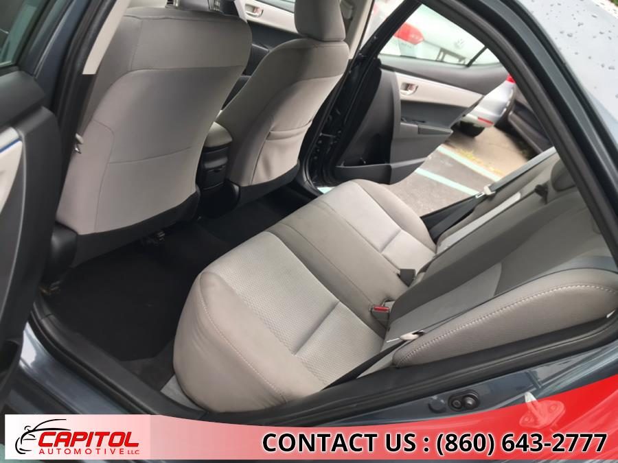 2016 Toyota Corolla 4dr Sdn CVT LE (Natl), available for sale in Manchester, Connecticut | Capitol Automotive 2 LLC. Manchester, Connecticut