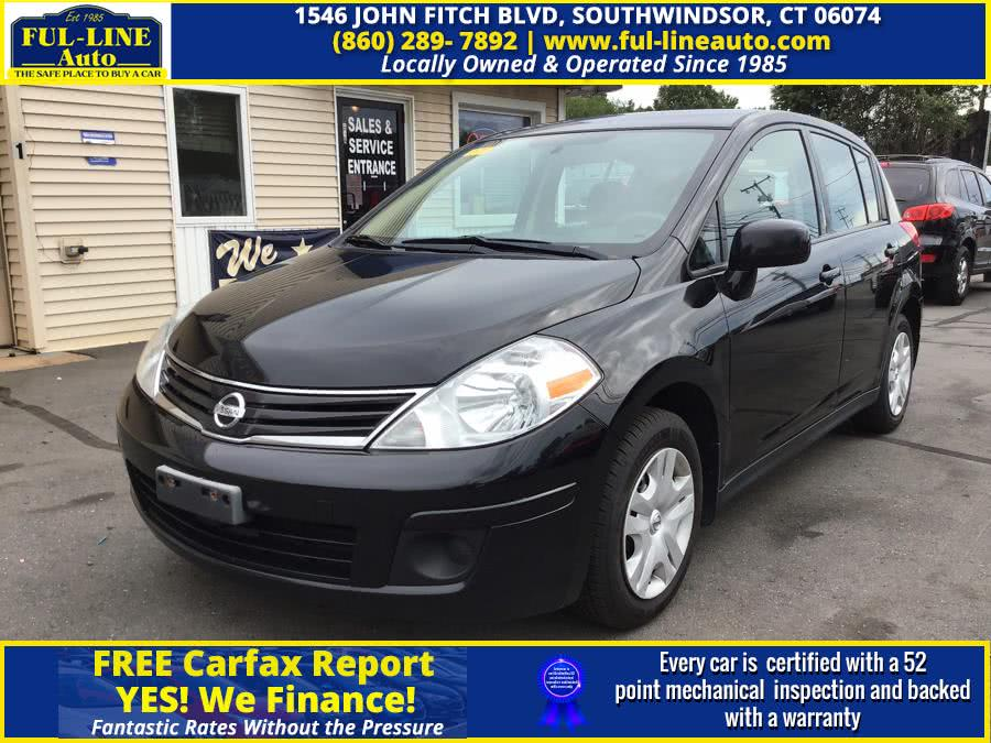 Used Nissan Versa 5dr HB Auto 1.8 S 2012 | Ful-line Auto LLC. South Windsor , Connecticut