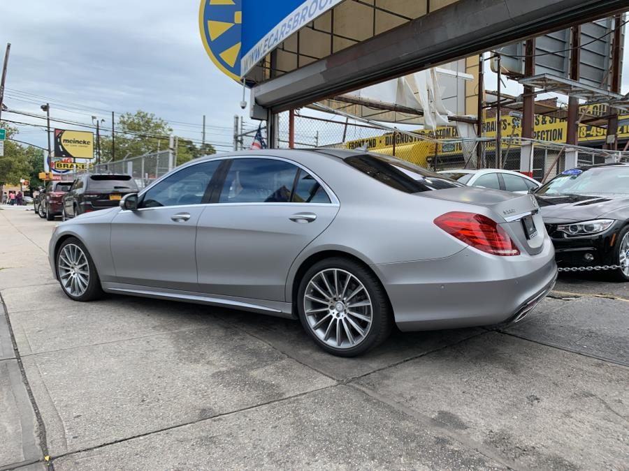 2016 Mercedes-benz S-class 4dr Sdn S 550 4MATIC, available for sale in South Richmond Hill, New York | ID Auto Mall . South Richmond Hill, New York