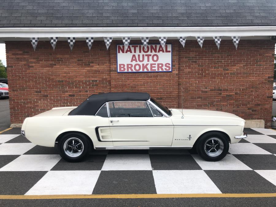 1967 Ford Mustang Convertible, available for sale in Waterbury, Connecticut | National Auto Brokers, Inc.. Waterbury, Connecticut