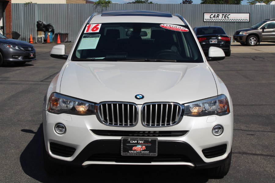 Used BMW X3 AWD 4dr xDrive28i 2016 | Car Tec Enterprise Leasing & Sales LLC. Deer Park, New York