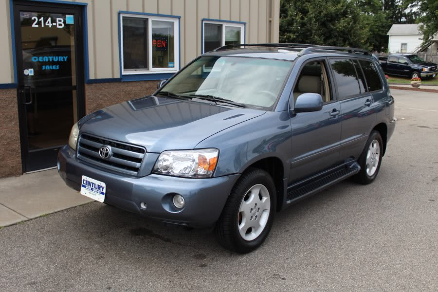 2004 Toyota Highlander 4dr V6 4WD Limited w/3rd Row (Natl), available for sale in East Windsor, Connecticut | Century Auto And Truck. East Windsor, Connecticut