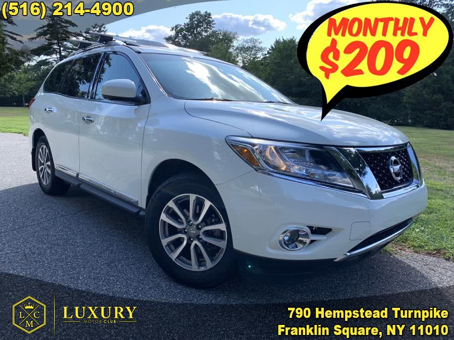 2015 Nissan Pathfinder 4WD 4dr SL, available for sale in Franklin Square, NY
