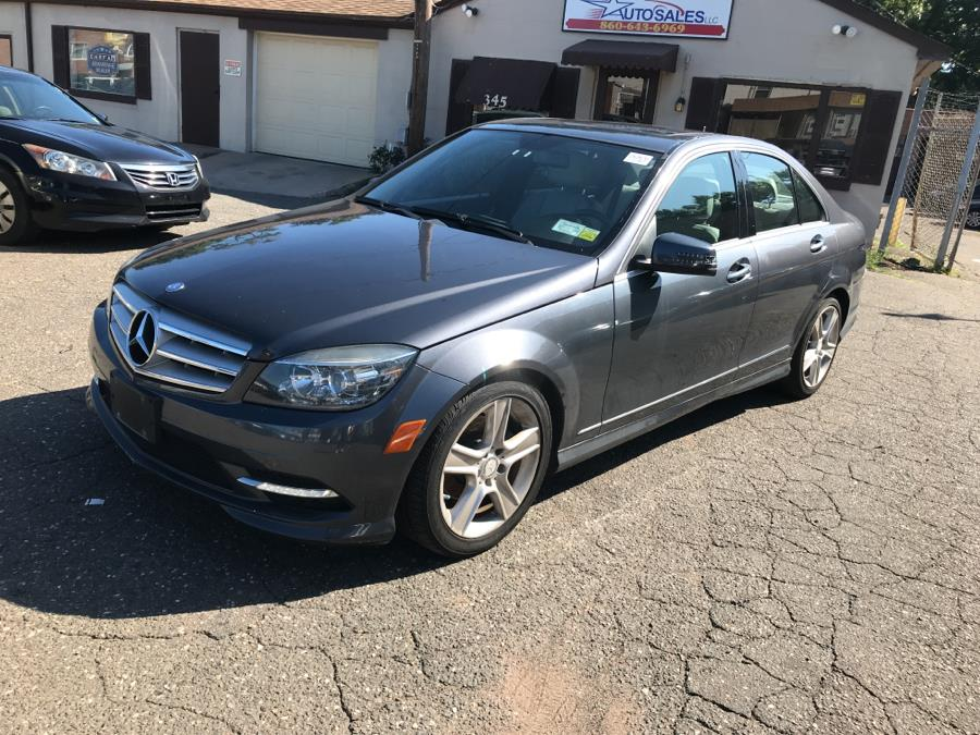 2011 Mercedes-Benz C-Class 4dr Sdn C300 Sport 4MATIC, available for sale in Manchester, Connecticut | Best Auto Sales LLC. Manchester, Connecticut