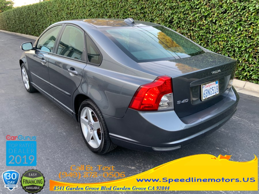 2008 Volvo S40 4dr Sdn 2.4L Man FWD w/Snrf, available for sale in Garden Grove, California | Speedline Motors. Garden Grove, California