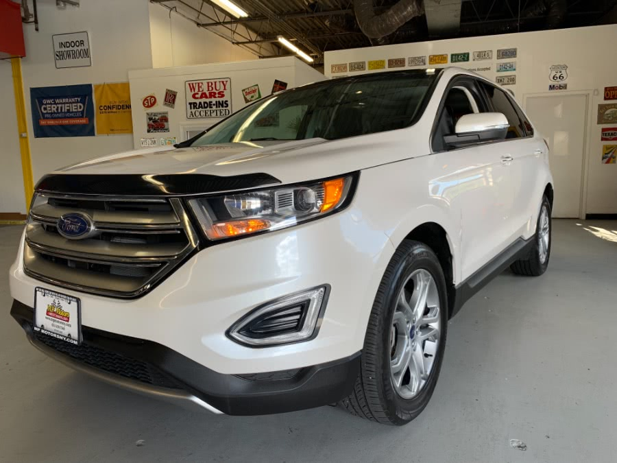 Used Ford Edge 4dr Titanium AWD 2015 | MP Motors Inc. West Babylon , New York