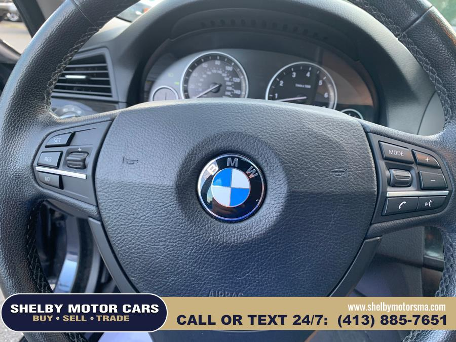 2012 BMW 5 Series 4dr Sdn 535i xDrive AWD, available for sale in Springfield, Massachusetts | Shelby Motor Cars . Springfield, Massachusetts