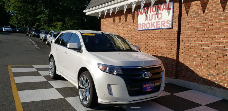 Used Ford Edge 4dr Sport AWD 2011 | National Auto Brokers, Inc.. Waterbury, Connecticut