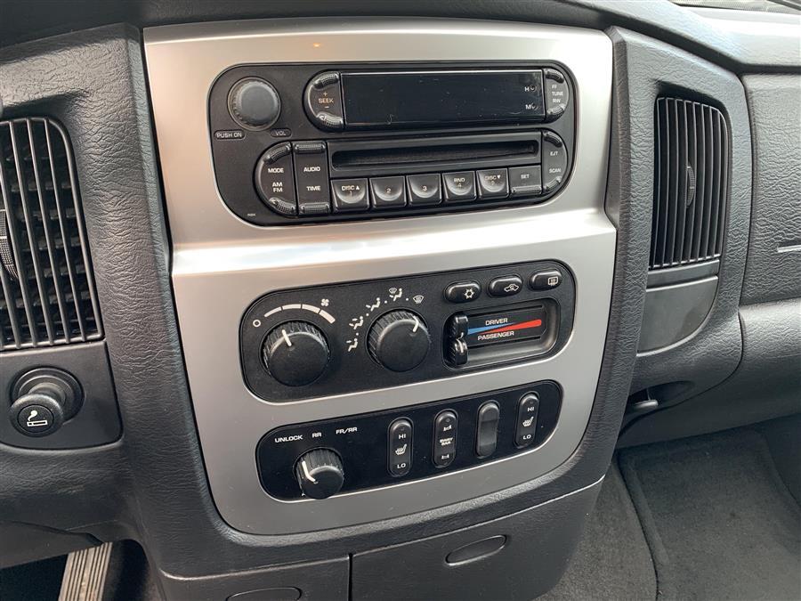 Used Dodge Ram 2500 QUAD LARAMIE SLT 2005 | Second Street Auto Sales Inc. Manchester, New Hampshire