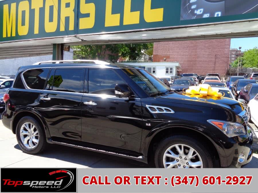 Used 2014 INFINITI QX80 4WD Bose Premium Sound in Jamaica, New York | Top Speed Motors LLC. Jamaica, New York