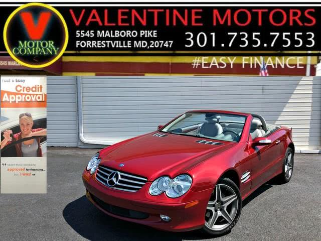 Used 2006 Mercedes-benz Sl-class in Forestville, Maryland   Valentine Motor Company. Forestville, Maryland