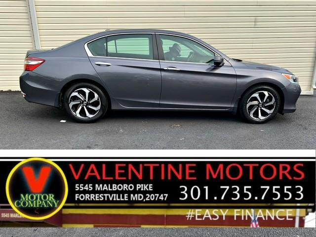 2017 Honda Accord Sedan EX, available for sale in Forestville, Maryland | Valentine Motor Company. Forestville, Maryland