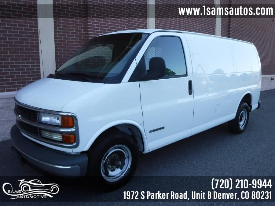 Used 2000 Chevrolet Express Cargo Van in Denver, Colorado | Sam's Automotive. Denver, Colorado