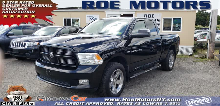 "Used Ram 1500 4WD Quad Cab 140.5"" Sport 2012 