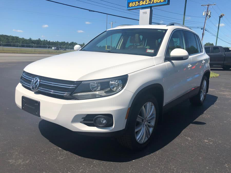 Used Volkswagen Tiguan SE 4WD 2013 | RH Cars LLC. Merrimack, New Hampshire