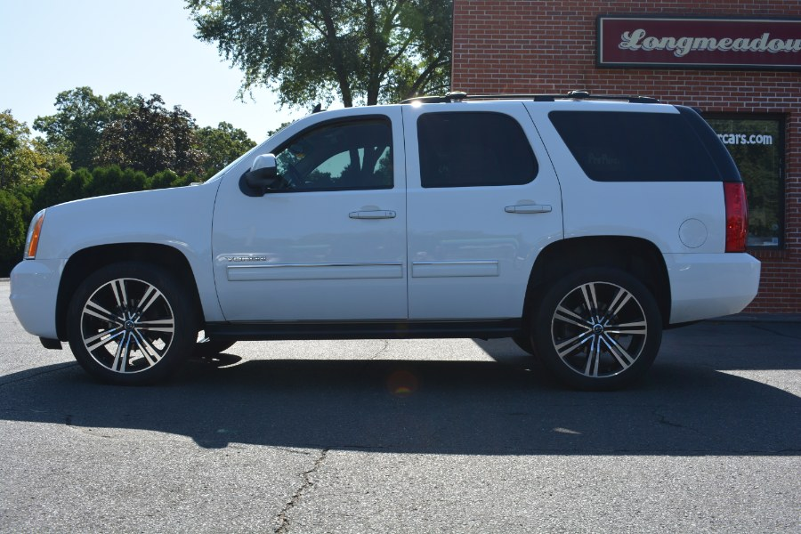 2013 GMC Yukon 4WD 4dr 1500 SLE, available for sale in ENFIELD, Connecticut | Longmeadow Motor Cars. ENFIELD, Connecticut