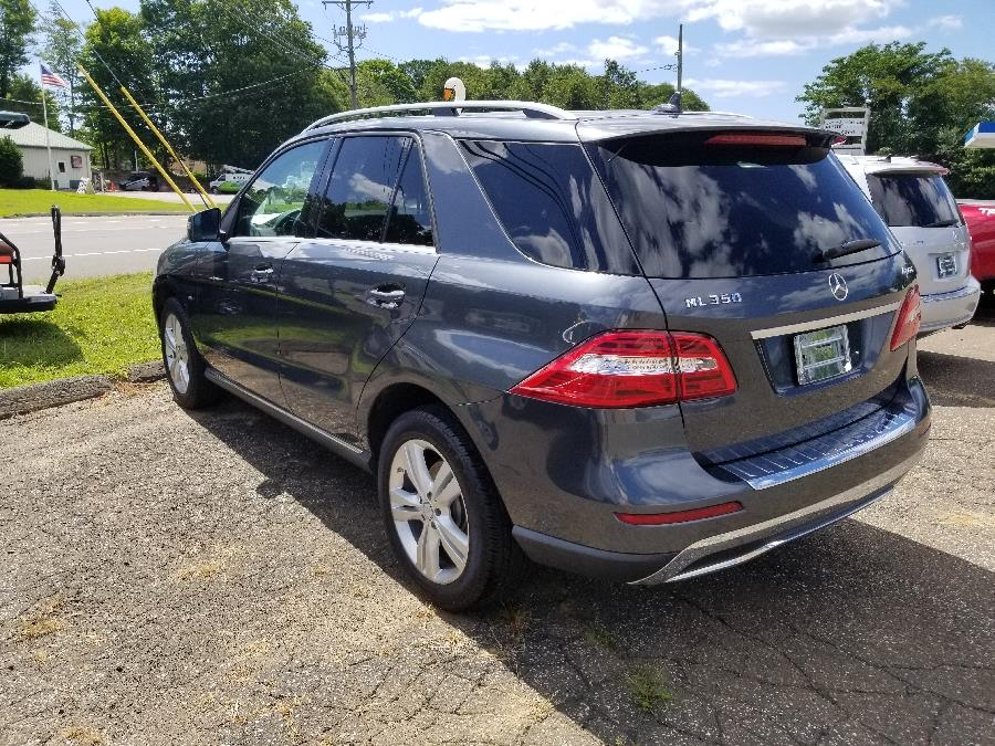 2012 Mercedes-Benz M-Class 4MATIC 4dr ML350, available for sale in Old Saybrook, Connecticut | Saybrook Leasing and Rental LLC. Old Saybrook, Connecticut