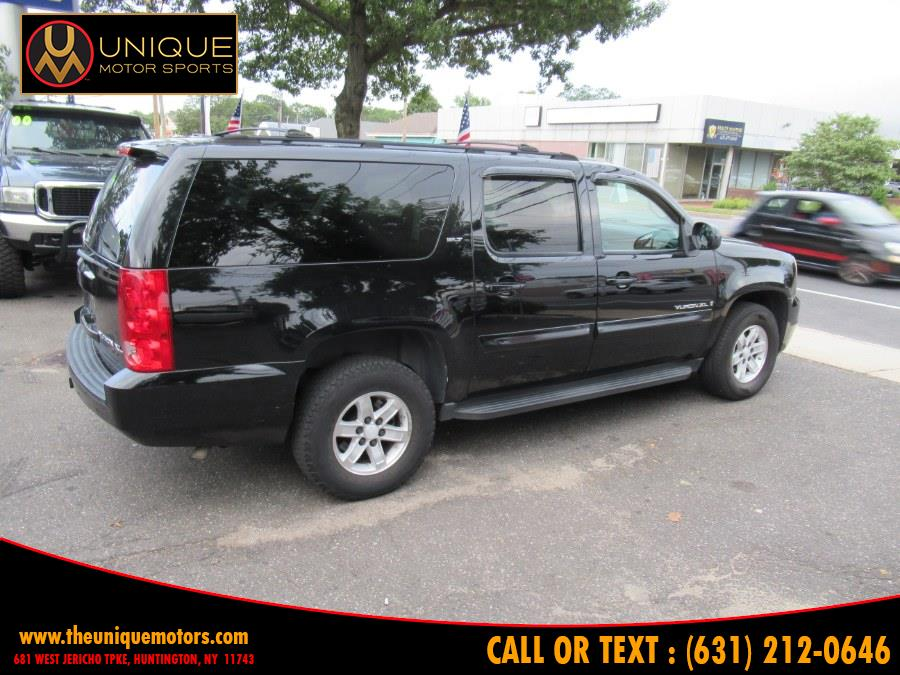 2007 GMC Yukon XL 4WD 4dr 1500 SLT, available for sale in Huntington, New York | Unique Motor Sports. Huntington, New York