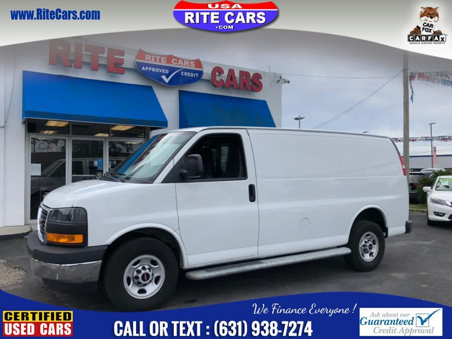 Used 2018 GMC Savana Cargo Van in Lindenhurst, New York | Rite Cars, Inc. Lindenhurst, New York