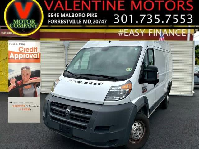 Used 2016 Ram Promaster Cargo Van in Forestville, Maryland | Valentine Motor Company. Forestville, Maryland