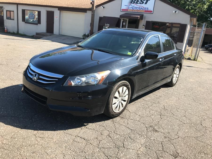 2012 Honda Accord Sdn 4dr I4 Auto LX PZEV, available for sale in Manchester, Connecticut | Best Auto Sales LLC. Manchester, Connecticut