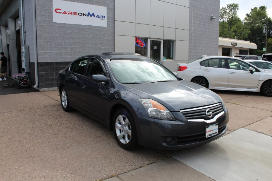2007 Nissan Altima 4dr Sdn I4 CVT 2.5 S, available for sale in Manchester, CT