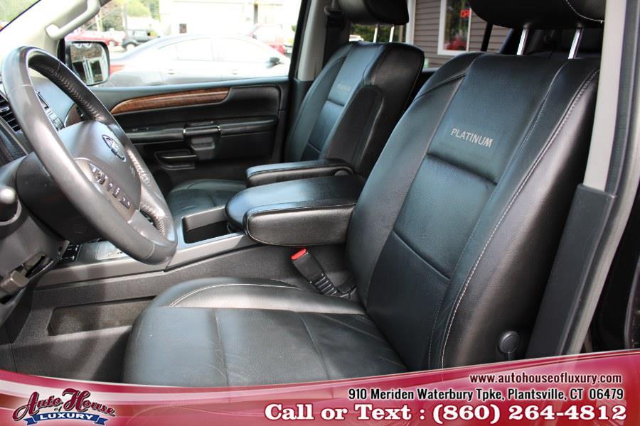 2014 Nissan Armada Platnium, available for sale in Plantsville, Connecticut | Auto House of Luxury. Plantsville, Connecticut