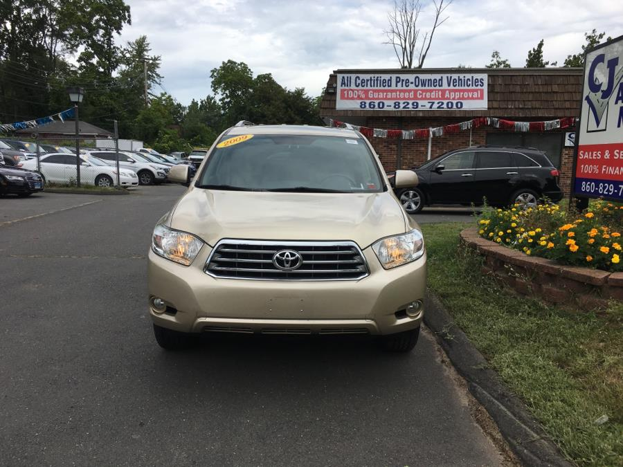 2009 Toyota Highlander 4WD 4dr V6  Limited, available for sale in Bristol , Connecticut | CJ Auto Mall. Bristol , Connecticut
