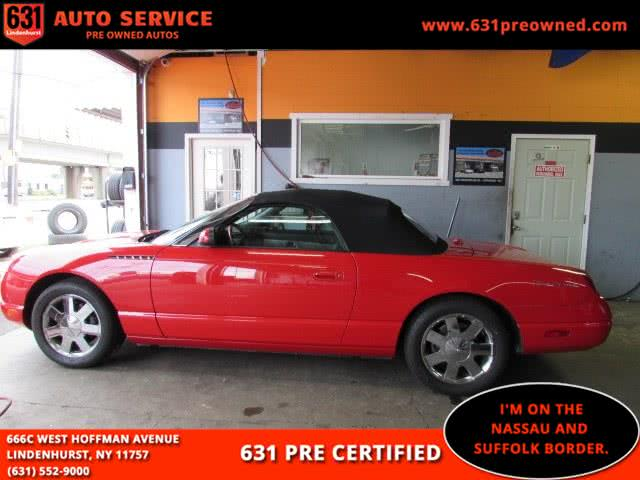 Used 2002 Ford Thunderbird in Lindenhurst, New York | 631 Auto Service. Lindenhurst, New York
