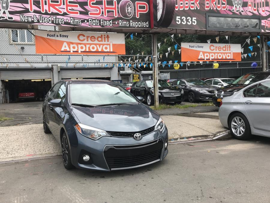 2016 Toyota Corolla 4dr Sdn Auto L (Natl), available for sale in Brooklyn, New York | Rubber Bros Auto World. Brooklyn, New York