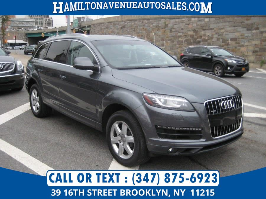 Used 2012 Audi Q7 in Brooklyn, New York | Hamilton Avenue Auto Sales DBA Nyautoauction.com. Brooklyn, New York