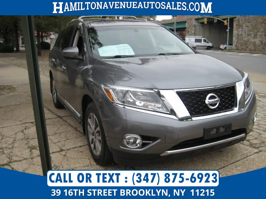 Used 2015 Nissan Pathfinder in Brooklyn, New York | Hamilton Avenue Auto Sales DBA Nyautoauction.com. Brooklyn, New York