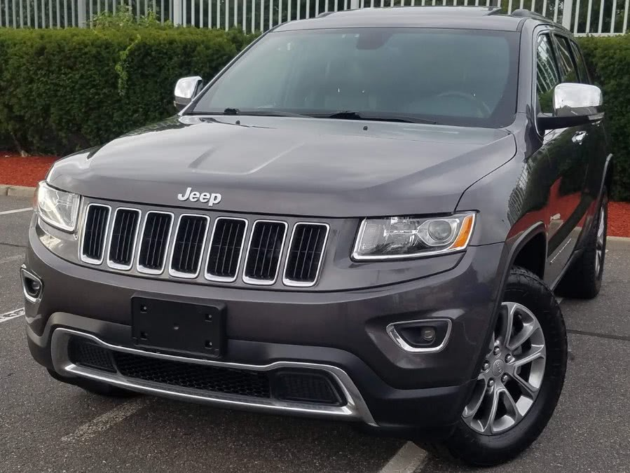 Used Jeep Grand Cherokee Limited 4WD w/Leather,Sunroof,Back-up Camera 2015