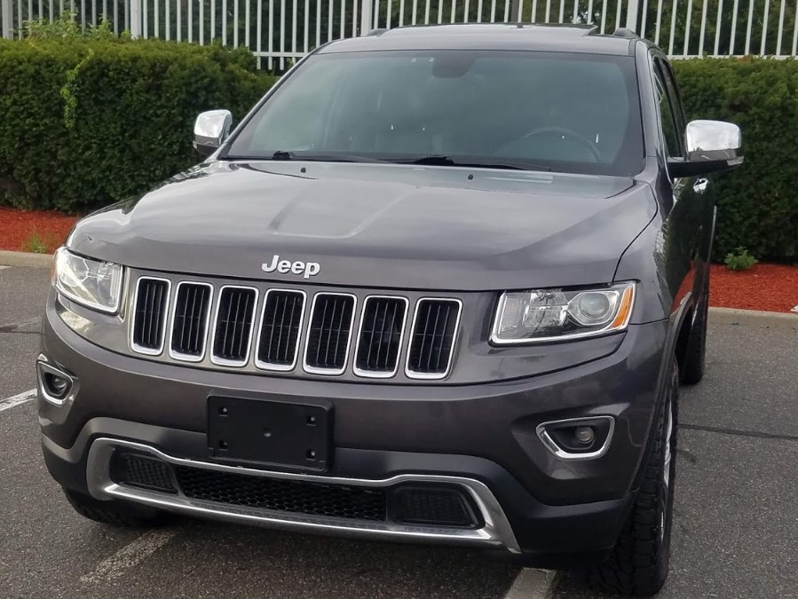 2015 Jeep Grand Cherokee Limited 4WD w/Leather,Sunroof,Back-up Camera, available for sale in Queens, NY