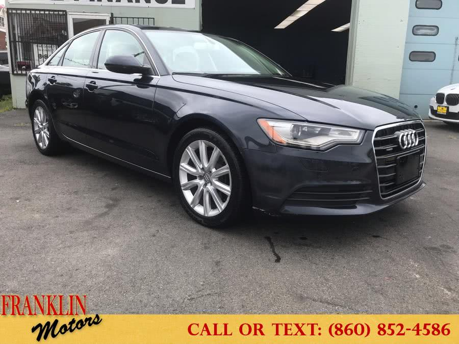 Used 2014 Audi A6 in Hartford, Connecticut | Franklin Motors Auto Sales LLC. Hartford, Connecticut