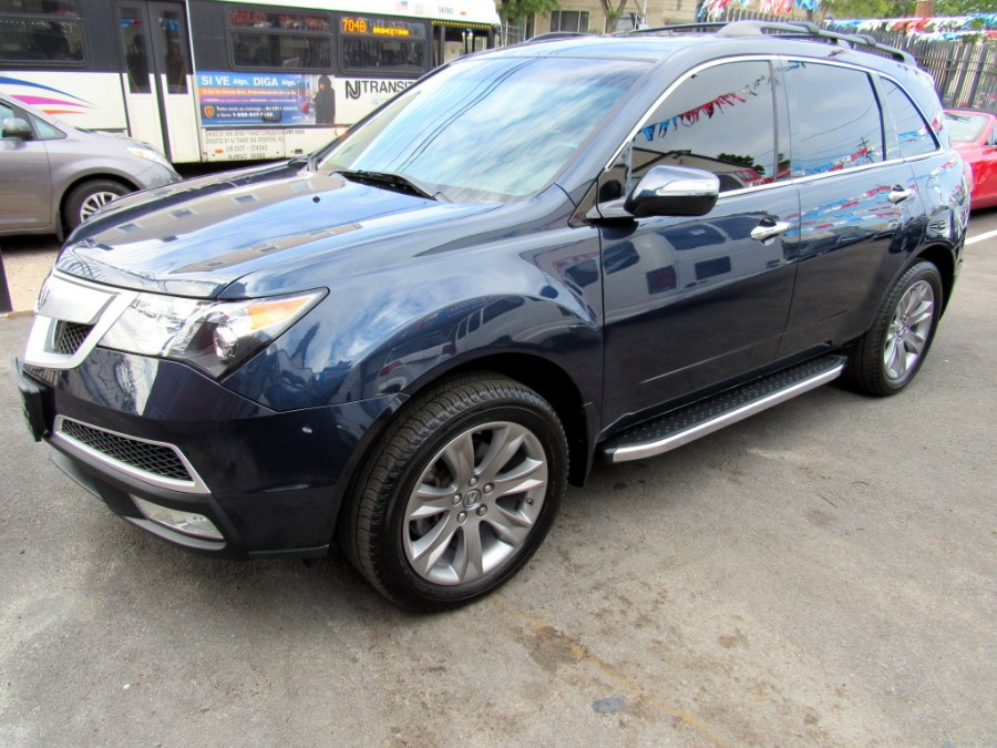 2013 Acura MDX AWD 4dr Advance Pkg, available for sale in Paterson, New Jersey | MFG Prestige Auto Group. Paterson, New Jersey
