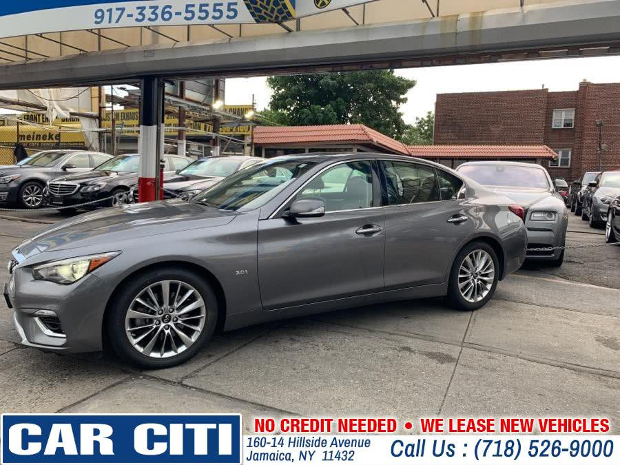 2018 INFINITI Q50 3.0t LUXE RWD, available for sale in Jamaica, NY